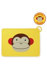 Skip Hop Zoo tartó Fold & Go szilikonból - Majom