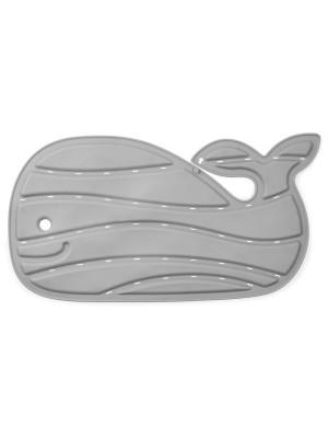 Skip Hop baba fürdőszőnyeg, csúszásgátló, bálna formájú, Moby, szürke